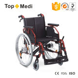 Guangzhou Wheelchair Supplier Aluminum Economical Manual Wheelchair for Sale (TAW251LHPQ)