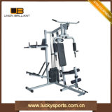 Multi Function Gym Equipment 100lbs Two Station Sports Equipment