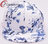 Colorful Floral Hip Hop Snapback Cap with Polyester (01125)