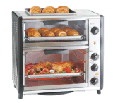 Double Layer Electric Oven Toaster Oven Table Oven