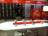 Retail Security Display Stand in Cylinder Shape Good for Display and a...