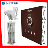Curved Tension Fabric Pop up Stand (LT-09D)