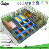 New Design Popular Customized Indoor Trampoline (14-4-1)