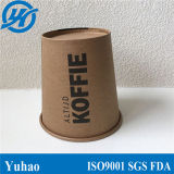 signal Wall Brown Craft Paper Cup for Hot Drinking