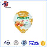 PP or PS Yogurt Cup Usage Aluminium Foil Lid