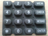 Customized Eco Friendly Soft Silicone Keypad