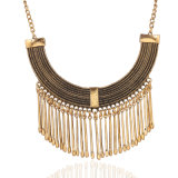 Fashion Tassel Antique Chokers Statment Necklace Jewelry