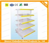 Fashionable Supermarket Shelf with Wire Mesh Back Xbh-A03