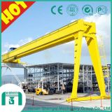 Single Girder and Double Girder Type Semi Gantry Crane