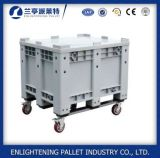 1200*1000*760mm Solid Plastic Container with Wheels