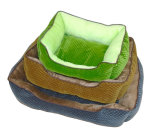 Solid Dog Bed / Pet House Sft15db020