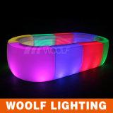 Woolf LED Colorful KTV Bar Counter Furniture