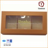 Elegant Chocolate Gift Box with PVC Window