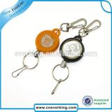 Strong Colorful Twistable Retractable Plastic Badge Reel