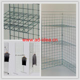 Wire Floor Standing Gridwall Display