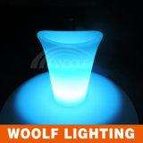 Commercial LED Illuminated Plastic Champagne Ice Bucket