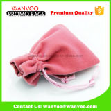 Smalll Red Velvet Jewelry Gift Pouches for Packaging