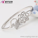 New Fine Natural Fancy Silver Zircon Bangle
