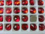 Light Siam Red Round Sew on Fashion Buttons for Dress