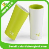 Plastic Mug Promotional Fashion Soft PVC Cup (SLF-PM003)