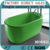 Hot Sales Colour Acrylic Modern Bathtub (612C)