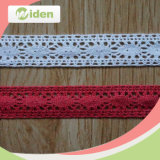 China Wholesale Flower Trimming Cotton Guipure Red African Lace