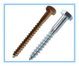 DIN571 Carbon Steel Zinc Plated Hex Head/ Lag Wood Screw