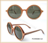 Brand Zebra Wooden Sunglasses in FC Optics