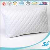 White Plain Diamond Style Quilted 100% Cotton Pillow Insert