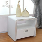 T63 Bedroom Furniture Whitel Leather End Table