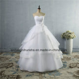 High Quality Wedding Dress Lace up Back Women′s Wedding Gown