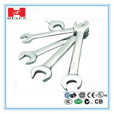 Chrome or Zinc or Silver Plated Cross Rim Wrench