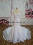 China Elegant Sweetheart Chapel Train Bridal Gown Dress OEM Service