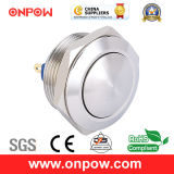 Onpow 19mm Metal Pushbutton Switch (GQ19SB-10/J/S, CCC, CE, RoHS Compliant)