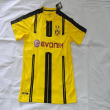 2016-2017 Dortmund Home Football Jersey, Borussia Jerseys