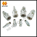 Male Nipple Stainless Steel Pneumatic Quick Connector