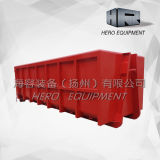 20m Traffic Red Outdoor Heavy Duty Roll on Roll off Bin