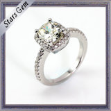 The Special Design Fashion Vivid Bright CZ Silver Ring Jewelry