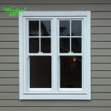 Grill Design Double Glazing PVC Casement Window