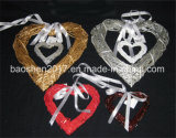 Wicker Heart Shape for Wedding Decoration