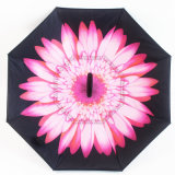 Creative Double Layer with C Handle Inside out Reverse Windproof Promotional Umbrella