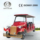 8 Seater Electric Golf Cart Real Leather Seats Classic Vehicle