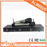 Professional Wireless Vocal Set with 2 PCS UHF Studio Handheld Wireless Microphone