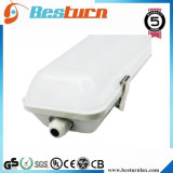 100W IP65 Tri-Proof Light Used in Gas Station 100-110lm/W with Frosted Cover