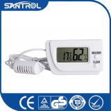 White Digital Temperature and Humidity Thermometer