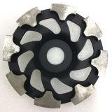 130mm Diamond T Segment Grinding Cup Wheels for Concrete Floor