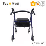Lightweight Medical Elderly Care Disability Four Wheelchair Rollator Shopping Cart