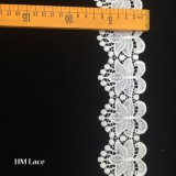 6.5cm Customized Bridal Cream Decorative Guipure Lace Edging/Trimming Hmhb903