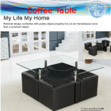 Tempered Glass Tables, Office Tables, Coffee Table (sea freight)