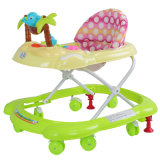 Rocking Horse Function Plastic Baby Walker with Carpet